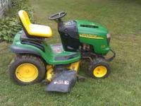 2003 John deere L130 23hp Kohler 48in cut less then
