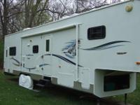 2003 K-Z NewVision Toy Hauler, Length: 37 ft, Exterior: