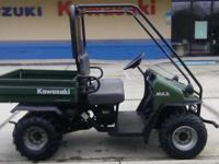 I presently have a 2003 Kawasaki Mule 550 for sale.