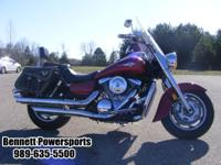 For Sale 2003 Kawasaki Vulcan 1600, this bike packs
