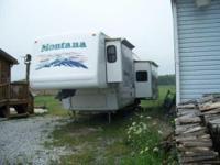 2003 Keystone Montana 5th Wheel. 2003 Montana 32 foot