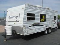 The Awesome little Travel trailer is waiting for