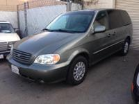 2003 Kia Sedona LX Color: Gray with Gray Cloth
