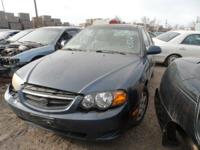 2003 KIA SPECTRA FOR COMPONENTS ONLY. IF THE ENGINE IS