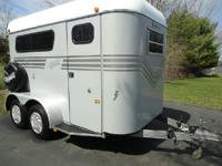 2003 Kingston 2 Horse Trailer, Excellent