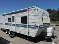 This is a very well maintained 24,9 foot travel trailer