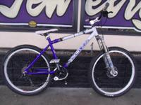 2003 Kona Blast mountain bike - custom built for