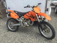 2003 KTM 525 SX Very very good condition Starts up