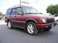 Options Included: Not Listed2003 LAND ROVER DISCOVERY