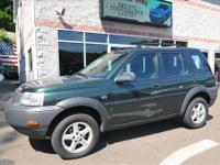 A nice 2003 Land Rover Freelander in a great color