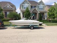 2003 Larson 18' boat with 3.0 Mercruiser. Good at gas