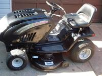 has a 17hp briggs Intek Vtwin, Automatic tranny with