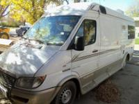 03 Freightliner Sprinter RV w/Mercedes Diesel Engine,