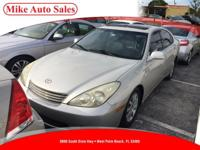 Options:  2003 Lexus Es300| |4-Way Manual Headrest