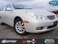 Put down the mouse because this 2003 Lexus ES is the