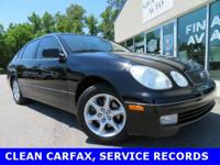 ...CLEAN CARFAX...SERVICE RECORDS...NEW TIRES..., Black