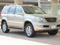 Year:	2003 Make:	Lexus Model:	GX 470 Trim:	4 Door Wagon