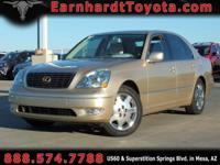 We are happy to offer you this 2003 Lexus LS430 which