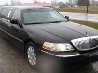 2003 LINCOLN 88 STRETCH 5DR/DABRYAN, Black/Black J