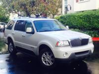 Options:  2003 Lincoln Aviator Luxury 4Dr Suv|White|17