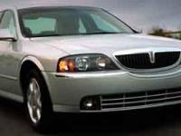 This Lincoln LS has a powerful Gas V8 3.9L/240 engine