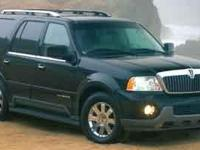 You're looking at a 2003 Lincoln Navigator in Car