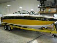 One of a kind ski boat, purchased in 2010 from Appleton