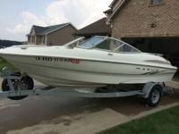 2003 Maxum 1800SR. Look relatively brand new at the