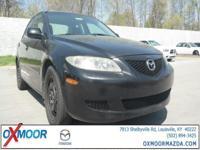 New Price! 2003 Mazda Mazda6 i Mazda6 i, 4D Sedan, 2.3L