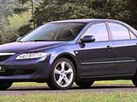 Recent Arrival! 2003 Mazda Mazda6 s Silver CLEAN