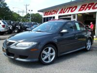 WHAT A SWEET DEAL ON A GREAT 2003 MAZDA 6S SPORT WITH