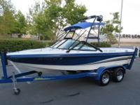 2003 MB Sports 20ft Ski/wakeboarding boat in good