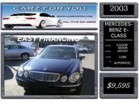 Year: 2003 Make: Mercedes-Benz Model: E-Class Mileage: