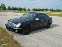 Exceptional low mileage Mercedes Benz E500. Less than