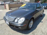 Options:  2003 Mercedes E-Class E320|Our 2003