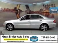 2003 Mercedes-Benz E-Class CARS HAVE A 150 POINT INSP,