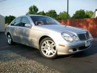 Up for sale is a low mileage 2003 Mercedes-Benz E500 in