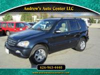 2003 Mercedes Benz ML 500 Engine: 5.0L V8 SOHC 24V