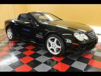 This One Owner 2003 MERCEDES SL500 ROADSTER Hard-Top