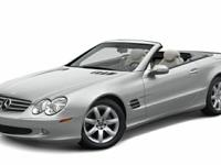 Check out this gently-used 2003 Mercedes-Benz SL-Class