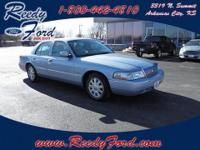 This 2003 Mercury Grand Marquis has a track record of