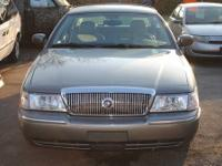 The 2003 Mercury Grand Marquis is in very good