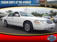 CRUISE CONTROL. This 2003 MERCURY GRAND MARQUIS GS is