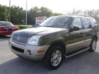This 2003 Mercury Mountaineer 4dr 3rd row - Leather AWD
