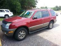2003 Mercury Mountaineer all wheel drive fully loaded