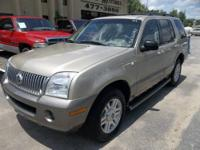 2003 Mercury Mountaineer AWD Vin: 4M2ZU86K43ZJ37794