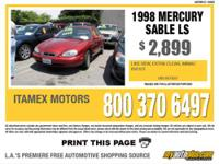 2003 Mercury Sable LS Premium Body Style: Sedan Stock