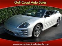 Options Included: N/A2003 MITSUBISHI ECLIPSE SPYDER