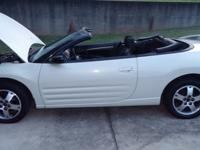 2003 Mitsubishi Eclipse Spyder convertible for sale.