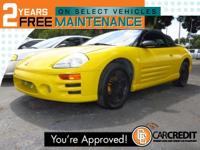 Options:  2003 Mitsubishi Eclipse Spyder Gt- Clean